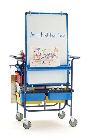 markerboard carts learner supply. Black Bedroom Furniture Sets. Home Design Ideas
