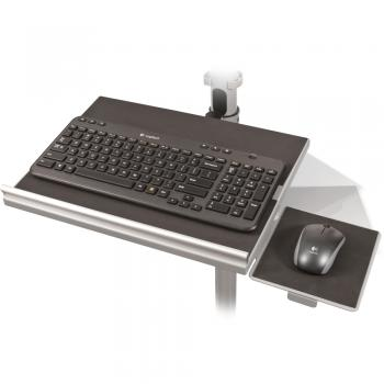 A wireless keyboard for an AV projector cart is displayed.