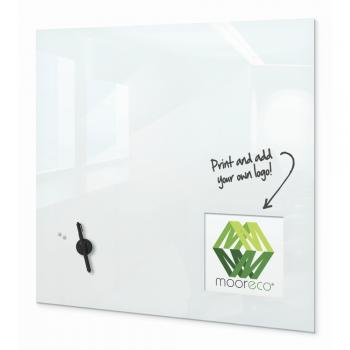 A magnetic glass whiteboard is displayed.