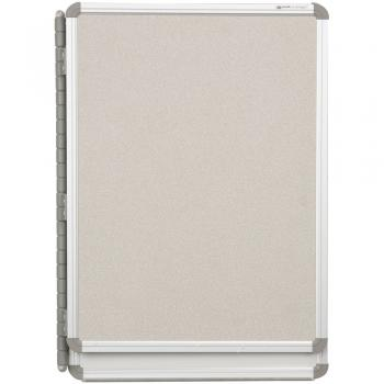 The front of the cubicle dry erase board is high pressure laminate.