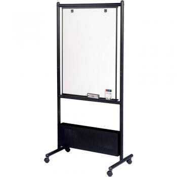 Free standing whiteboard comes in three different board styles.