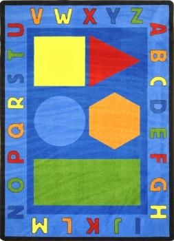 This preschool learning carpet provides a learning opportunity in a relaxing environment.