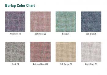The fabric board is available in eight colors to accentuate your school or office colors.