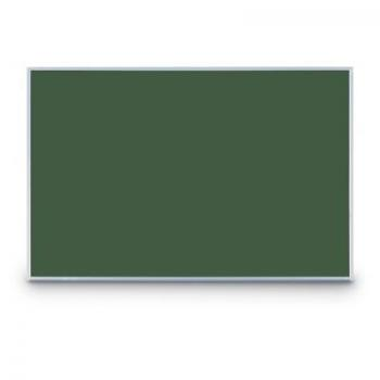 The small chalkboard comes in an aluminum or wooden frame and black or green chalkboard faces for your classroom.