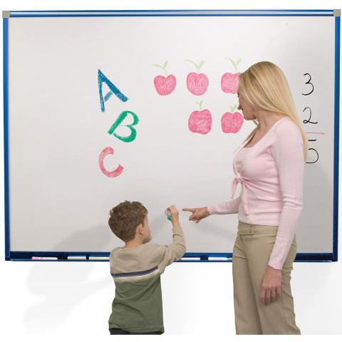 Magnetic Kids Whiteboard Choose Trim Color And Size