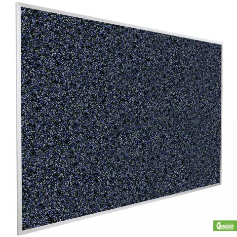 Black Cork Board Recycled Rubber Learner Supply