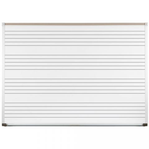 Music Staff Whiteboard Choose Size Learner Supply