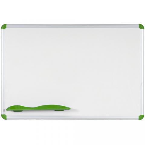 the magnetic dry erase white board is shown in red it comes in many sizes - Large Dry Erase Board