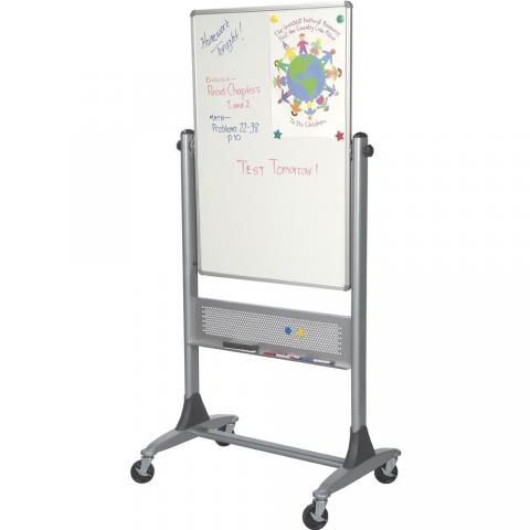 magnetic standing dry erase board with wheels choose size