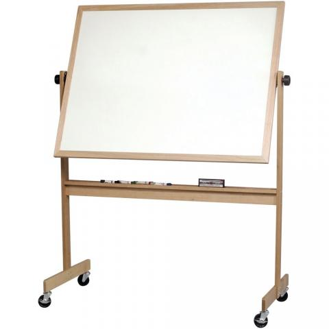 magnetic rolling whiteboard portable choose size aluminum or