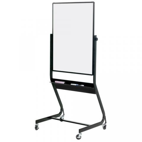 Magnetic Dry Erase Board With Stand Pvc Coated Steel Learner Supply