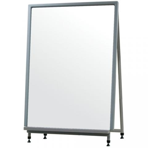 convertible magnetic whiteboard with stand learner supply