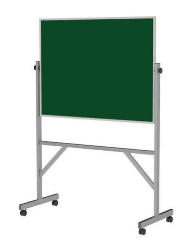 Rolling Chalkboard Easel on Wheels - Aluminum or Wood Frame - Green ...