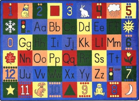 months seasons kc p color multi educational children bedroom kids cubs alphabet learning rugs colored rug ft area x abc