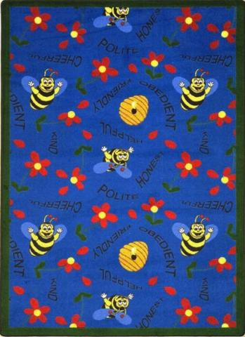Bee Attitudes Children Rug Learner Supply