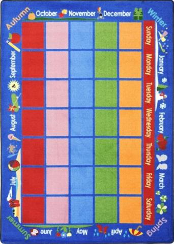 Celebrations Calendar Educational Carpets And Rugs