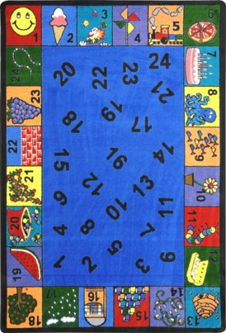 Count On Me Kindergarten Classroom Rugs Learner Supply