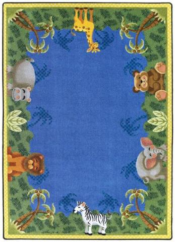 the large classroom animal rug brings the zoo right into your class room
