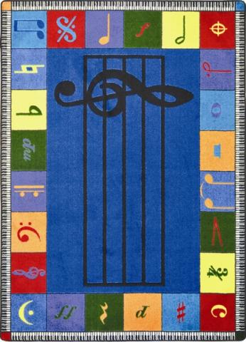 Note Worthy Music Classroom Rug Learner Supply