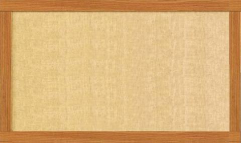 Fabric Tack Board Wood Frame Choose Size Learner Supply