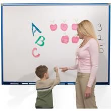 This heavy duty magnetic dry erase whiteboard is a must for schools.