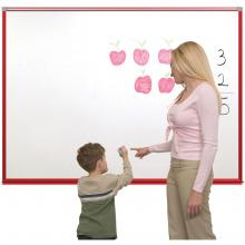 The magnetic dry erase whiteboard for schools is ideal for helping children learn.