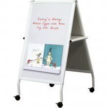 A Children's Easel and chalkboard and markerboard combo is great for story time.