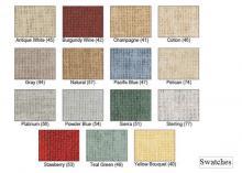 Choose your vinyl preschool room divider color.