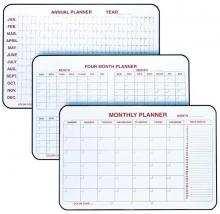 This four month dry erase calendar Is ideal for the office sett. Available in several sizes, this calender allows you to keep everything on schedule.