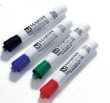get your message across with these red, green, blue and black assorted porcelain markers.